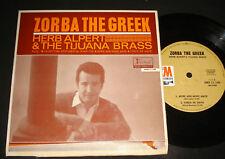 HERB ALPERT'S TIJUANA BRASS 1960s EP - ZORBA THE GREEK