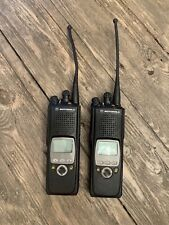 Motorola XTS 5000 Model II  H18UCF9PW6AN 700 / 800Mhz Two Way Radio (Lot Of 2)