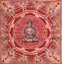 Buddha bohemian tapestry mandala indian cotton wall hanging bedspread queen size