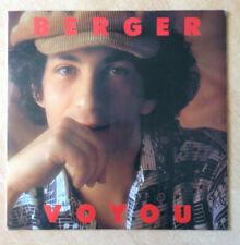 """33T Michel BERGER Vinyle LP 12"""" VOYOU - LES PRINCES DES VILLES - APACHE 240104"""