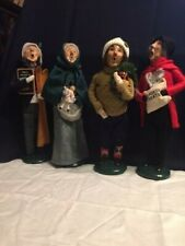"""Byers Carolers """" LOT OF 4 """""""
