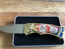 New - The Wolf Knife Collector Knives with Tins