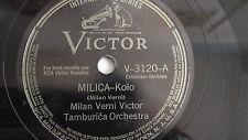 Milan Verni Victor Tamburica Orch. – 78rpm 10-inch – Victor #V-3120