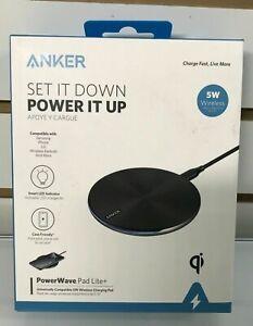 Anker PowerWave Pad Lite+ Universal 5W Wireless Charging Pad Case #5811