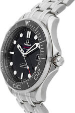 Brand New Omega Seamaster Black Dial Men's Diver Watch Ref. 21230412001003
