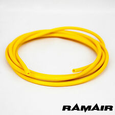 Silicone 4mm x 3m Vacuum Hose - Boost - Water - Pipe Line Yellow