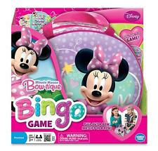 Minnie Mouse Bingo Board Game