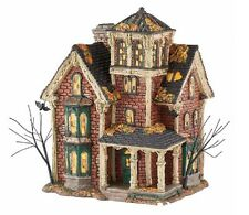 Department 56 Halloween Village Ghastly's Haunted Villa Lighted Building 4051007