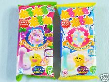 Kracie Nerunerunerune 2 Pieces Set Grape & Soda Popin Cookin Japanese Candy Kit