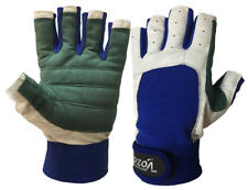 Amara Leather SAILING GLOVES/YACHTING GLOVES/BOAT ROPE GLOVES/CUT FINGER