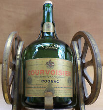 VHTF COLLECTIBLE VINTAGE V.S.O.P. COURVOISIER COGNAC IN CANNON BASE ''EMPTY''