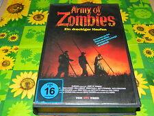 Army of Zombies - Ein dreckiger Haufen - VPS Verleihtape - VHS