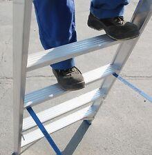 Stehleiter Bockleiter Alu beidseitig 2 x12 ganze Stufen Industrie