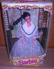 #8186 NRFB Mattel Philippine Centennial Barbie Foreign Issue
