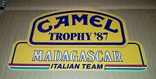 """Adesivo Sticker Camel Trophy """"87 Madagascar italian Team da Collezione Scontato"""