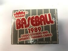 Factory Sealed Fleer 1989 ML Baseball Traded Updates Set 132 Cards 22 Stickers