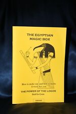 EGYPTIAN MAGIC BOX Basil Crouch Le-Croix Finbarr Book Grimoire Occult Witchcraft