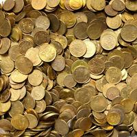 Konvolut Polen - Münzen 1 Grosz 2 Grosze 5 Groszy Mischung 1 KILOGRAMM 1 Kg LOT