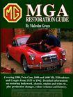 MGA RESTORATION MANUAL GUIDE BOOK GREEN MG HOW TO RESTORE SHOP