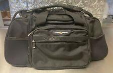 "Chrysler Crossfire 6-Compartment 24"" Travel/Duffle Bag Black"