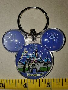 Disneyland Tinkerbell Keychain Mickey Mouse Ears