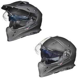 Motorradhelm Crosshelm Quad Cross Enduro Bluetooth Motocross Offroad Helm rueger