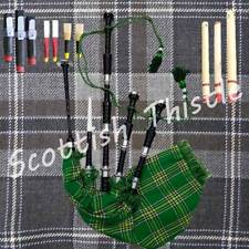 Great Scottish Highland Bagpipes Silver Amounts/Highland Bagpipe with Tutor Book