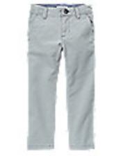 Nwt Gymboree Mix N Match Stone Grey Chino Prep Fit Woven Pants Size 10 $29.95