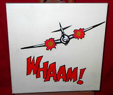 Contemporary Painting On Canvas - Airplane WHAAM! - Some Scuffs
