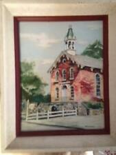 Original Scenery Oil Painting on Canvas by Artist Ruth Seitman
