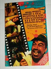 TWO THOUSAND MANIACS Novelization Herschell G Lewis Paperback