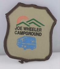 Vintage Joe Wheeler Campground patch Embroidered Souvenir Patch