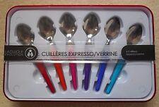 LAGUIOLE * EVOLUTION multicolore Espresso Spoons - 6