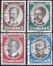 GERMANY #432-35: F/VF Used Complete Set of 4 - 'Lost Colonies' memorial issue