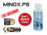 KIRKLAND Minoxidìl 8%-Minox P8® - 6+1 MESI TRATTAMENTO RICRESCITA DEI CAPELLI