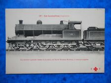 Locomotive à Grande Vitesse du LONDON and NORTH WESTERN RAILWAY.