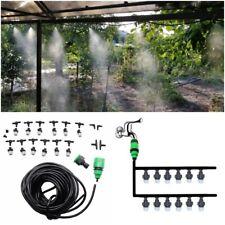 Drip Irrigation Watering Equipment System Sprinkle Mist Garden Lawn Kit Set Hose