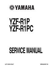 Yamaha YZF-R1P YZF-R1PC 02-03 Manual De Servicio reimpreso Peine atado