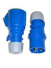 32A CEE Stecker + Kupplung IP44 3-polig - 32 A Steckerset 3p PCE 023-6 + 223-6