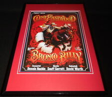 Bronco Billy 11x17 Framed Repro Poster Display Clint Eastwood