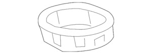 OEM NEW 2014-20 GM Chevrolet GMC Camaro Front Engine Oil Pan Front Seal 12666993