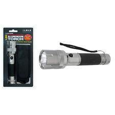 Lloytron LED Aluminium Torch 3W 2D Work Light Camping DIY Flashlight With Case