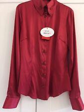 BNWT Vivienne Westwood Red Krall silk shirt size 10 (42)