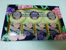 Vintage Delagar Bouquet of Rose & Lavender Perfumed Soap & Bath Cubes England