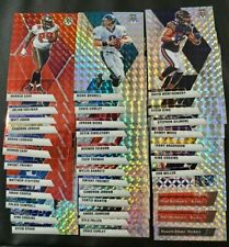 2019 2020 Mosaic Prizm 325 Rookie Prizm Silver Numbered Football Card Lot Auto