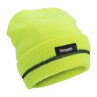 503136755Proclimate High Vis Reflective Work Beanie Hat