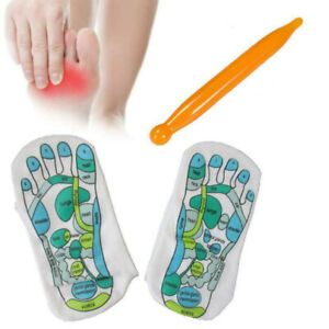 2pcs Acupressure Socks Physiotherapy Massage Relieve Tired Feet Reflexology Tool