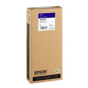 Original Epson T824D violet SureColor SC-P6000 P7000 P8000 P9000 DATUM 05/2020