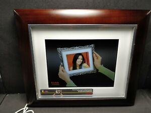 "Kodak D825 8""Digital Frame screen fits hundreds of 8X10 traditional frames"