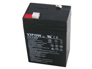 Gel Battery 6V 4.5Ah Rechargeable Sealed Maintenance Free No Spill Lead Acid UK